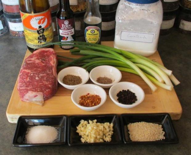 Beef with Cumin and Scallions | Sybaritica
