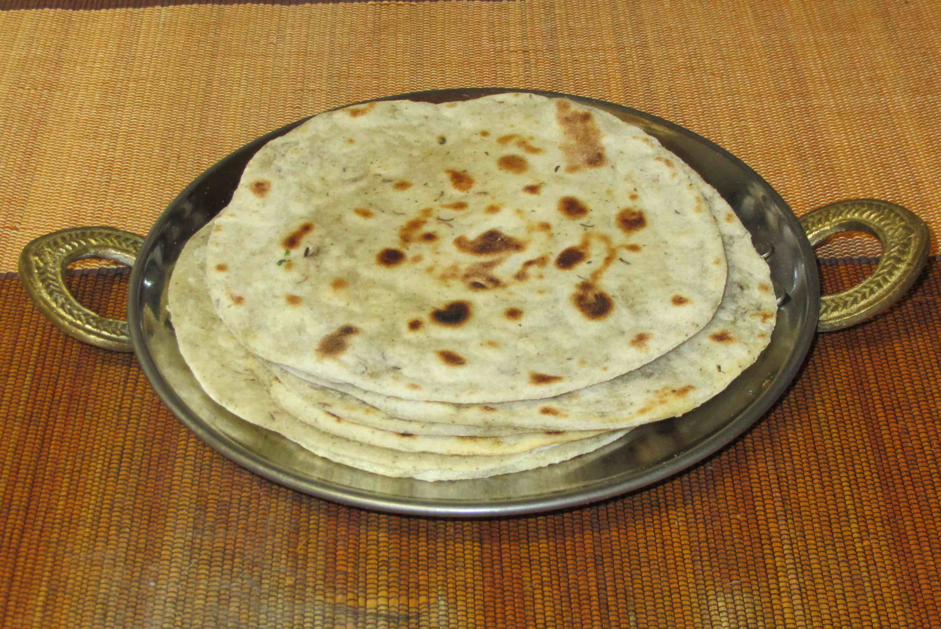 Experiment: Roti (Indian flatbread) | Sybaritica