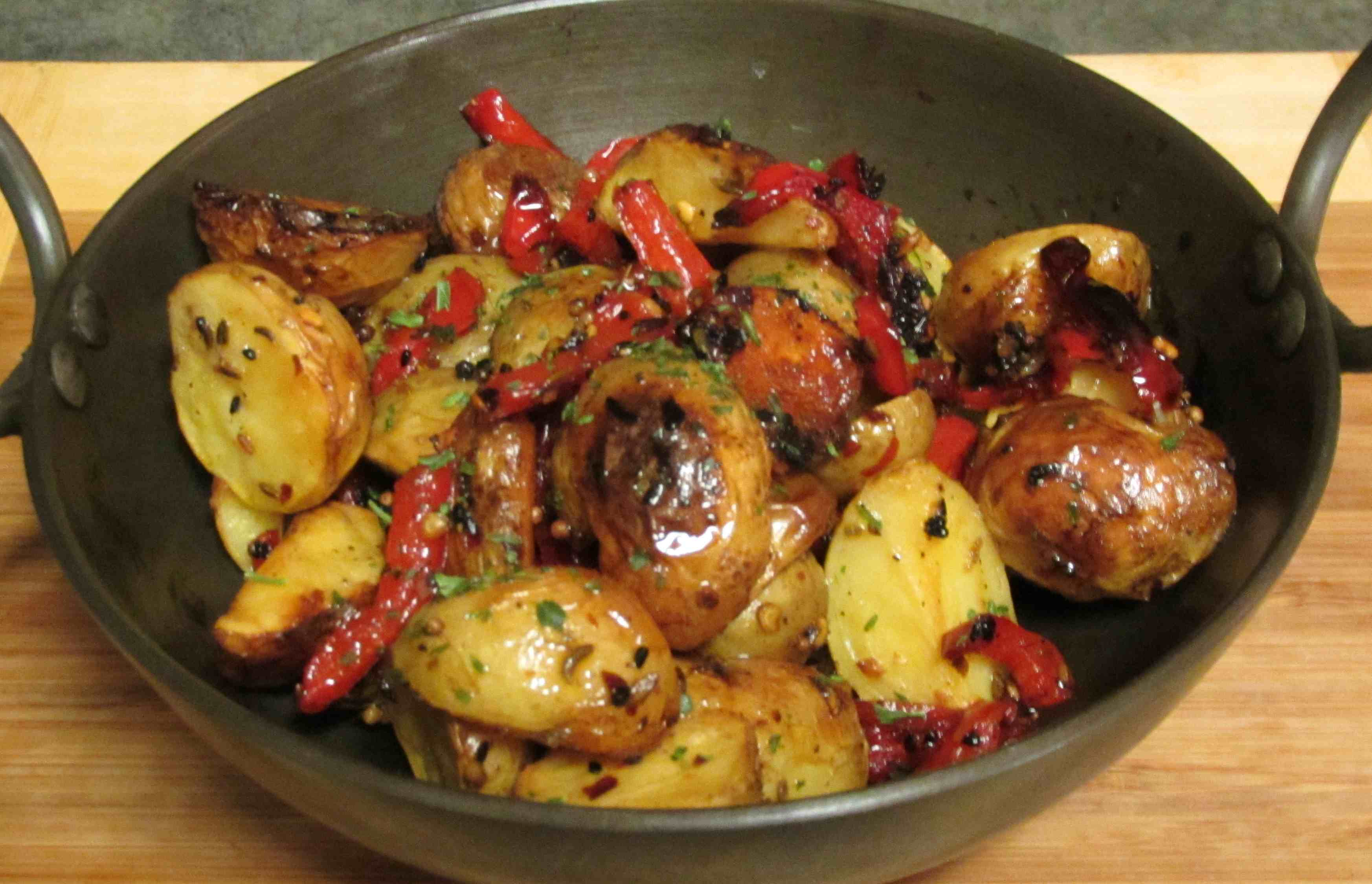 oven roasted potatoes easy recipe for spicy roasted sweet potatoes and ...