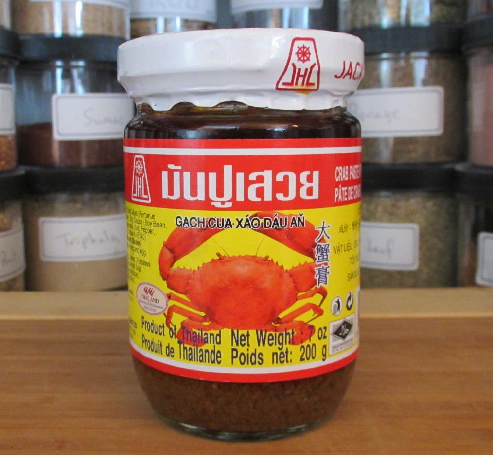 Foodstuff: Thai Crab Paste – Jack Hua Brand – Sybaritica