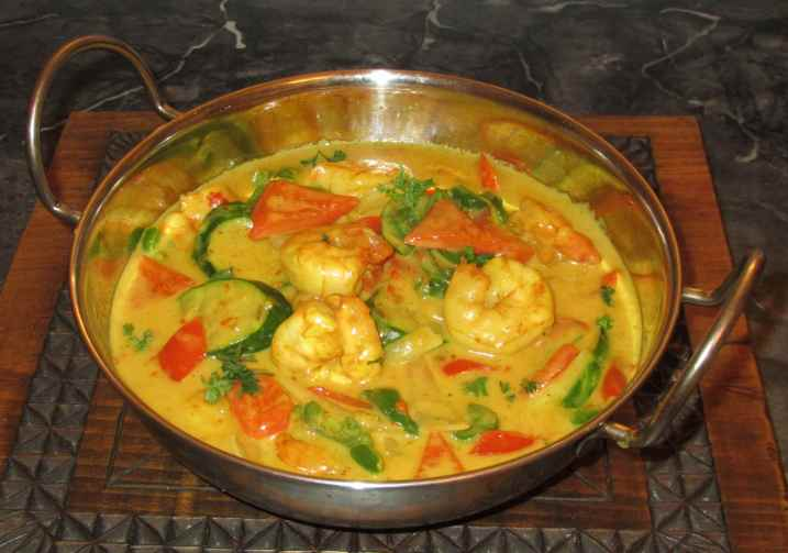 Malay Shrimp Curry 1