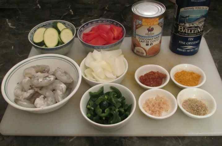 Malay Shrimp Curry 2