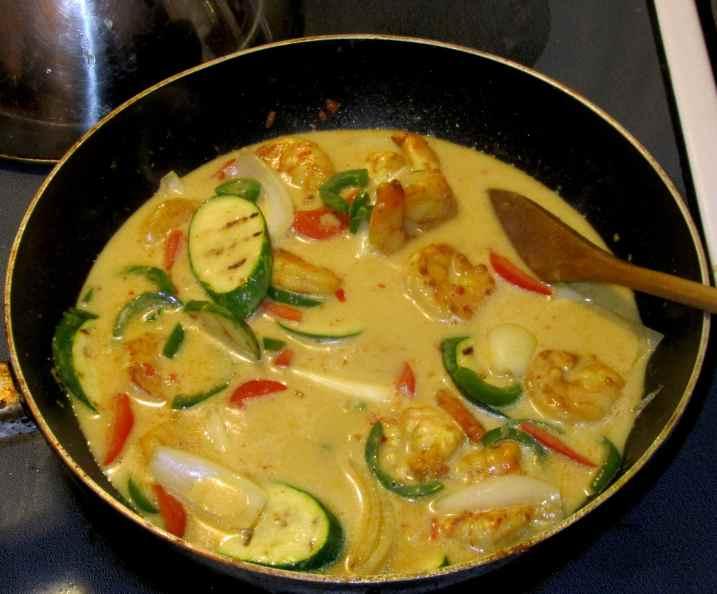 Malay Shrimp Curry 7