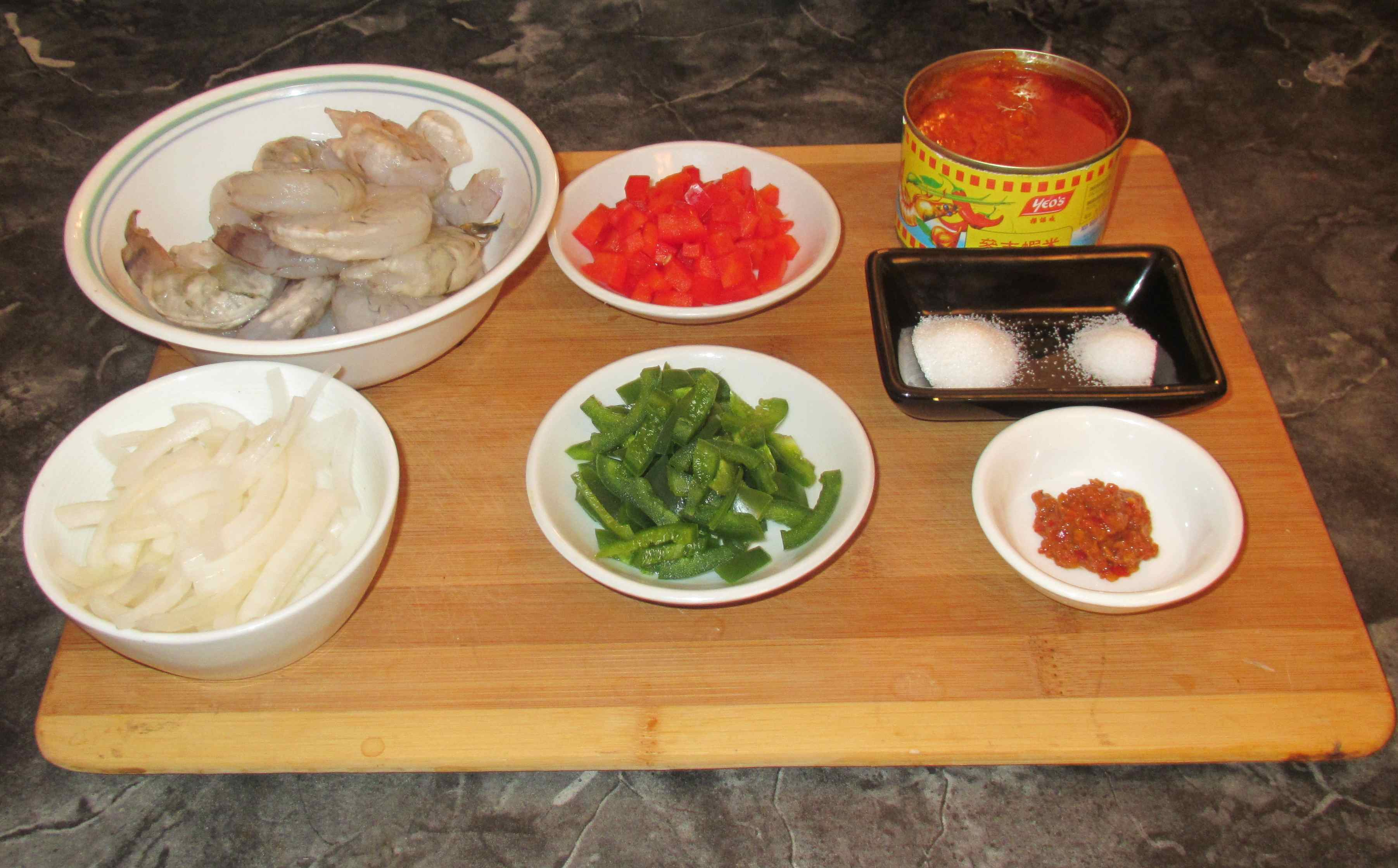 how to cook prawn sambal