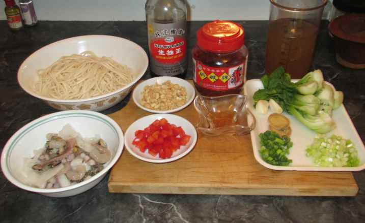 Spicy Seafood Soup Noodles 2