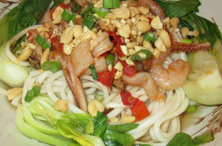 Spicy Seafood Soup Noodles 7