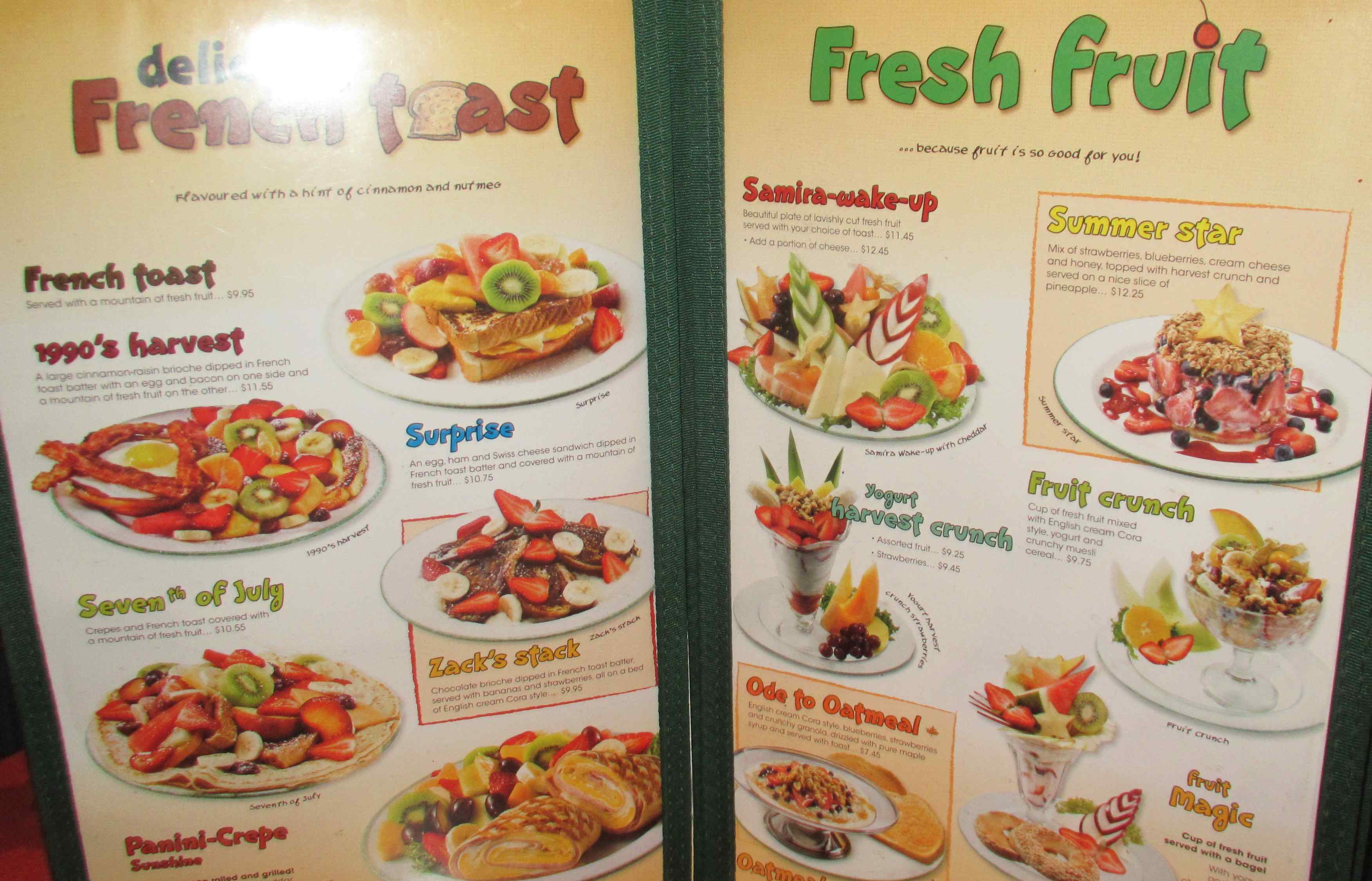 Rideau Chinese Restaurant Menu