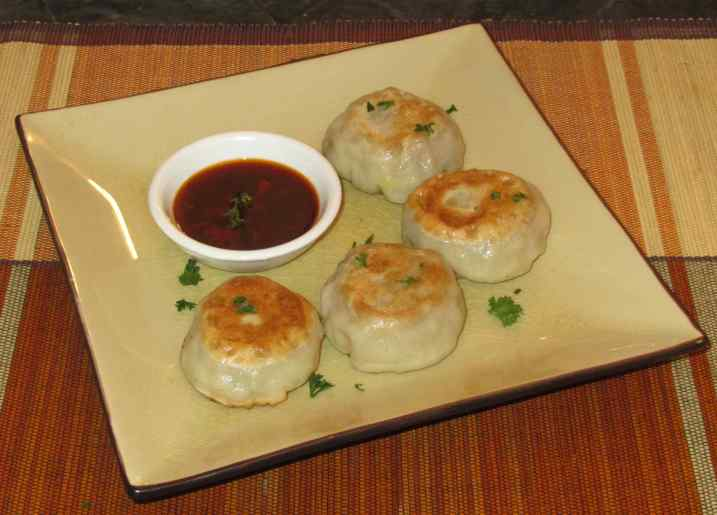Simple Pork Dumplings 1