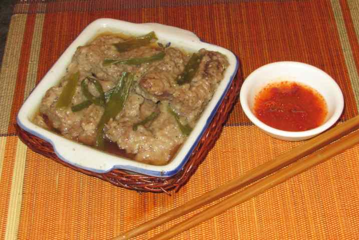 Pepper Steamed Beef Rib 1