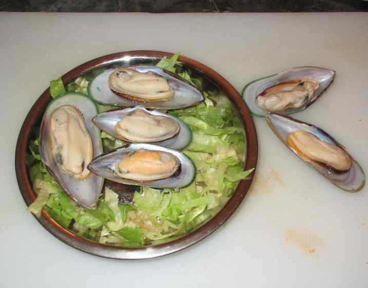 Steamed Black Bean Mussels 4
