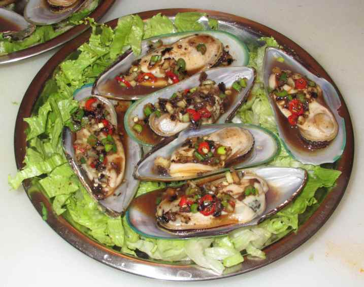 Steamed Black Bean Mussels 5