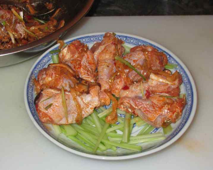 Steamed Chicken with Pickle 4
