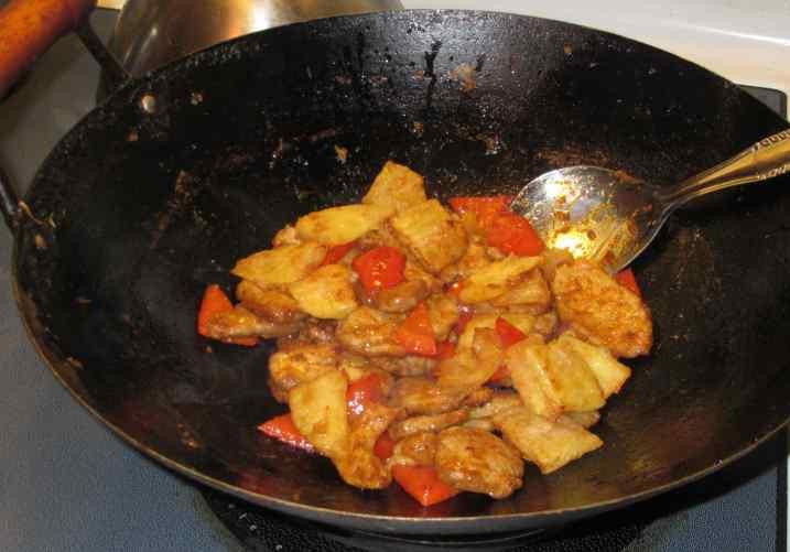 Thai-Style Pork and Pineapple 6