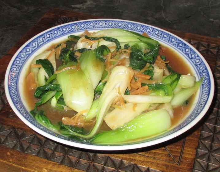 Bok Choy with Conpoy 1