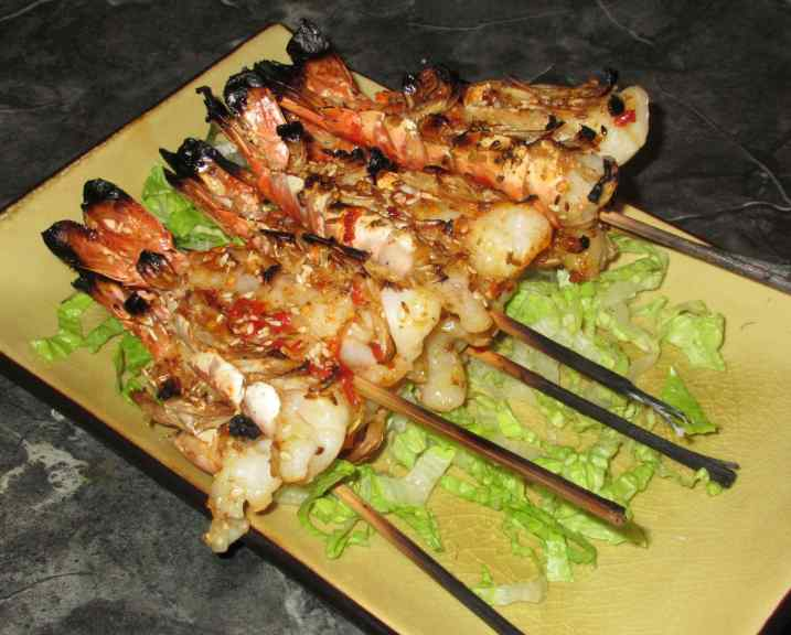 Chili Cumin Shrimp 1