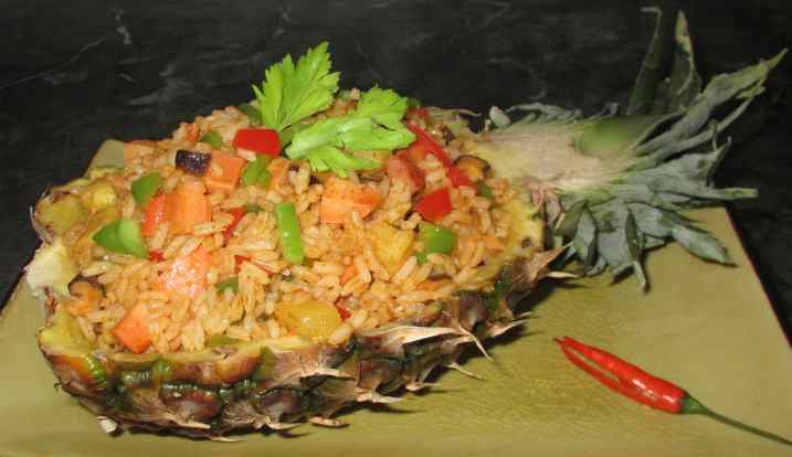 Thai Pineapple Rice 1