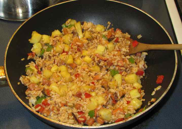 Thai Pineapple Rice 5