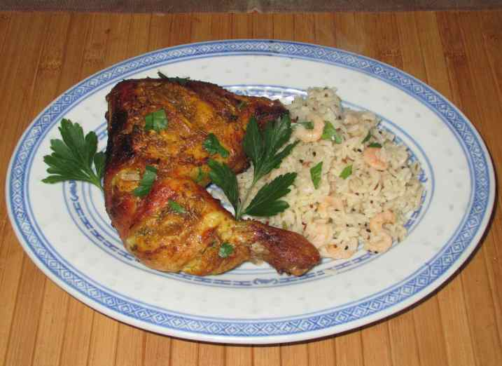 Cardamom Lemon Chicken 7