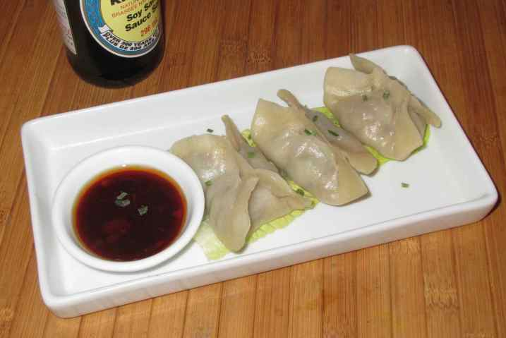Ginger Lamb Dumplings 1