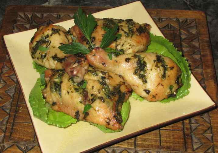 Lemon Pesto Chicken 1