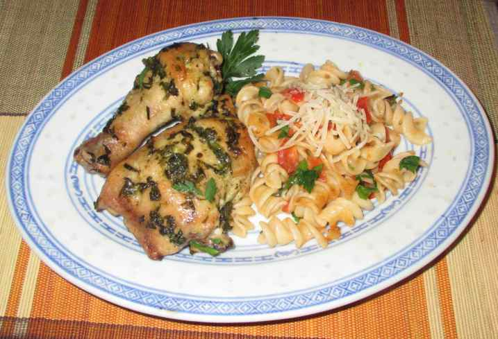 Lemon Pesto Chicken 5
