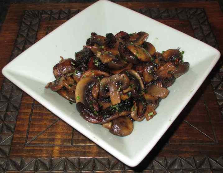 Sauteed Mushrooms 1