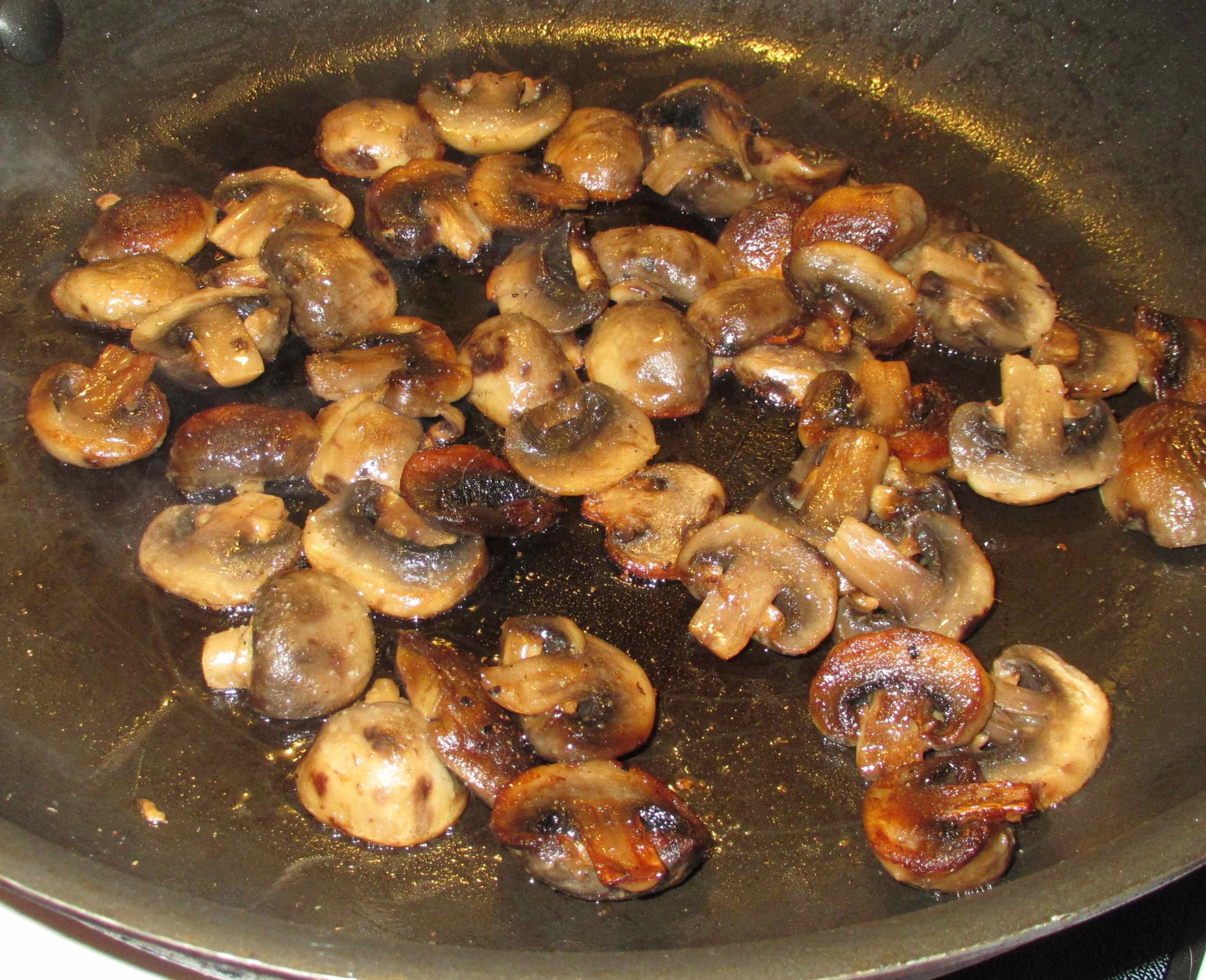 How to fry champignons 46