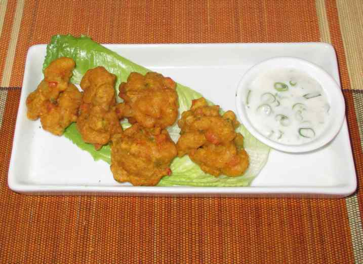 Shrimp Pakora 5