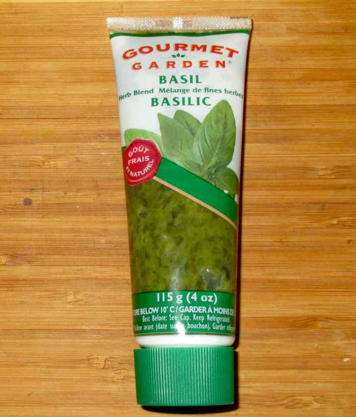 Basil in a Tube 1