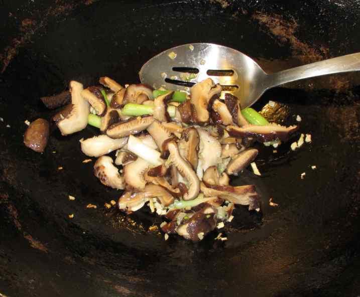 Mushroom Scallion Beef 4