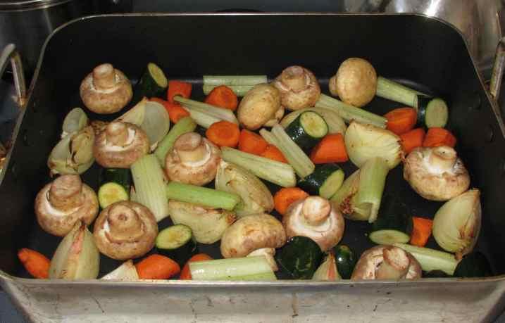 Roast Vegetable Stock 4