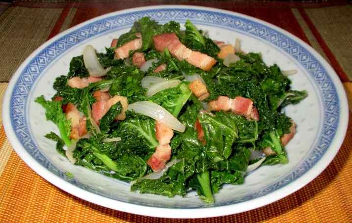 Sauteed Kale 1