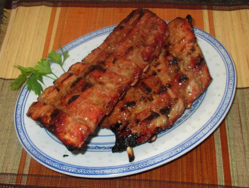 Barbecued Ginger-Pineapple Ribs 01