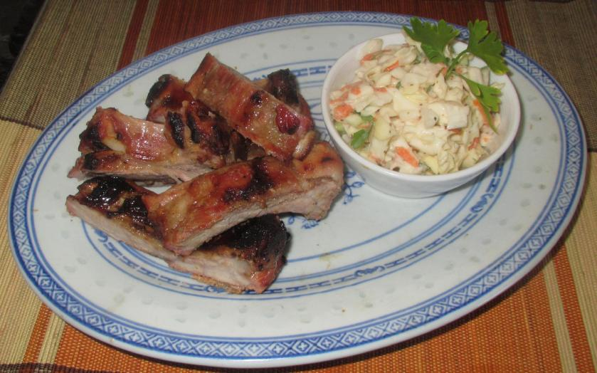 Barbecued Ginger-Pineapple Ribs 11