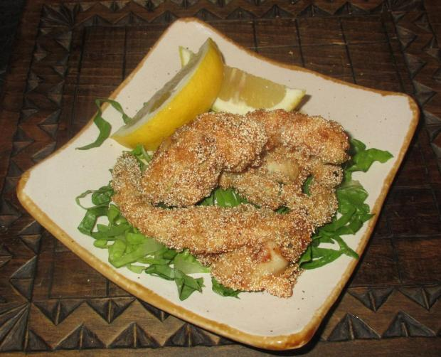 Deep-Fried Clam Appetizer 01