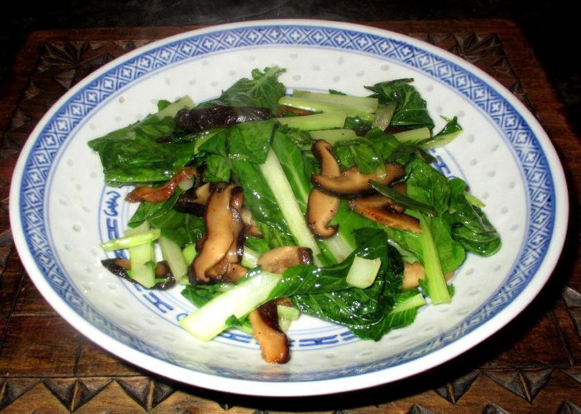 Greenhouse Bok Choy Stir-fry 04