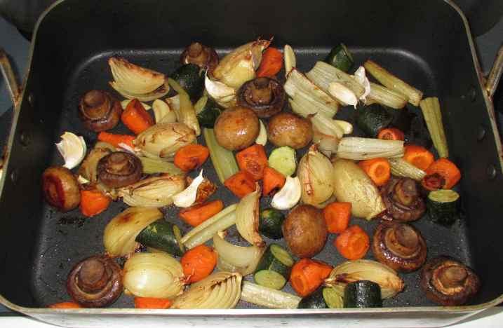 Roast Vegetable Stock 5
