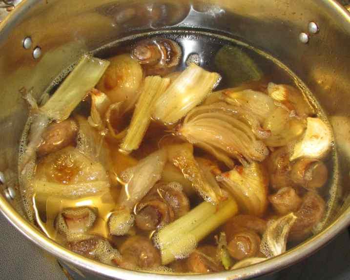 Roast Vegetable Stock 6