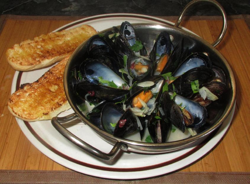 Steamed Mussels 01
