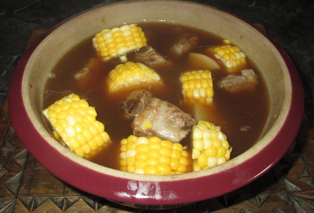 Firepot Rib and Corn Soup 01