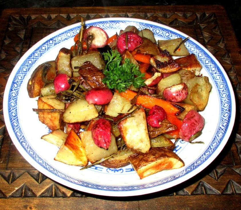 Roast Radish 01