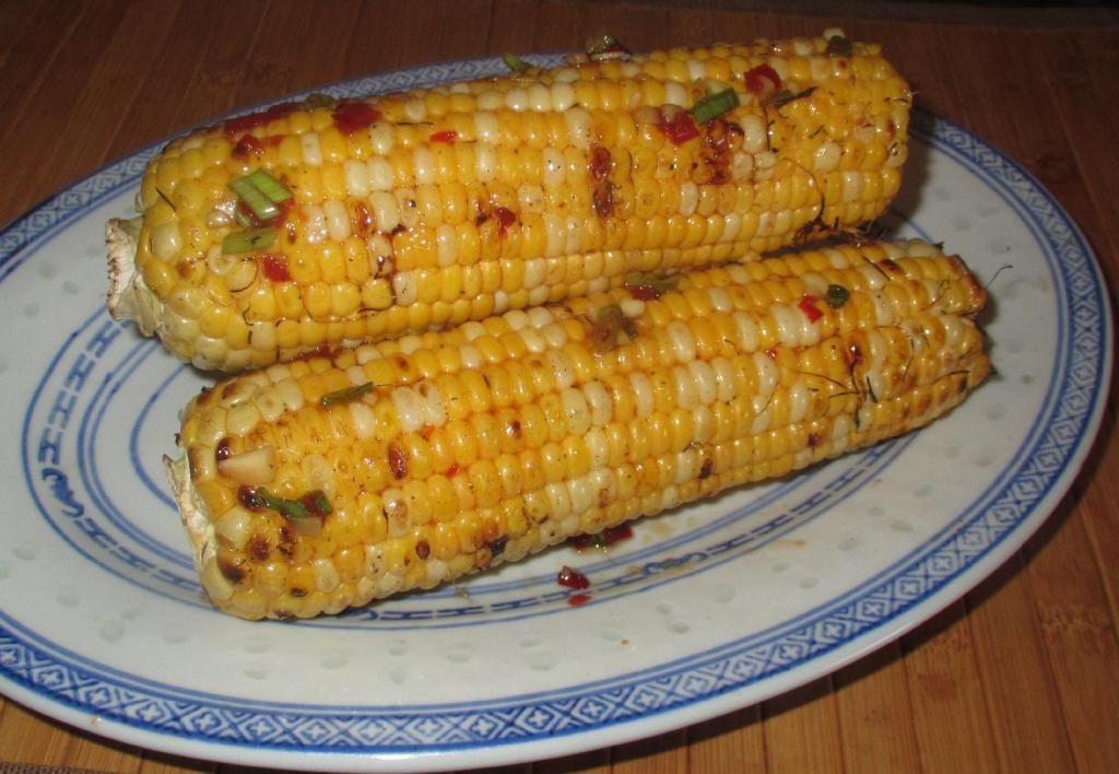 Spicy Grilled Corn on the Cob 01