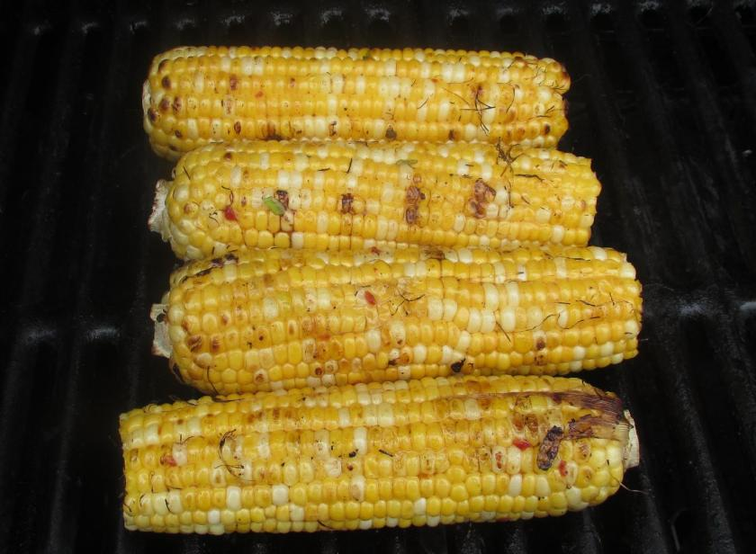 Spicy Grilled Corn on the Cob 03