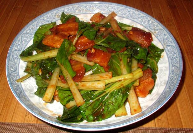 Spicy Pork Belly and Bok Choy 01