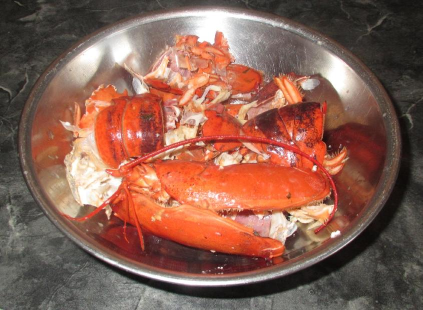 Boiling Lobsters 5