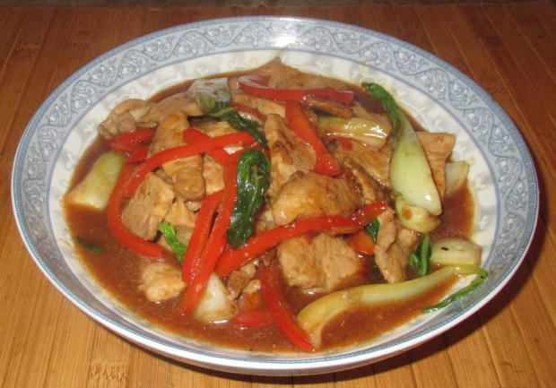 Ginger Hoisin Pork 1