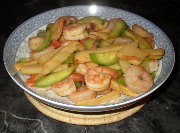 Chili Pickle Bamboo Shrimp 1