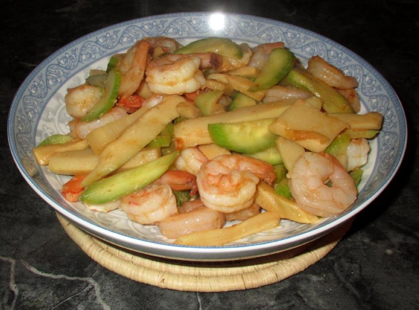 Chili Pickle Bamboo Shrimp 1