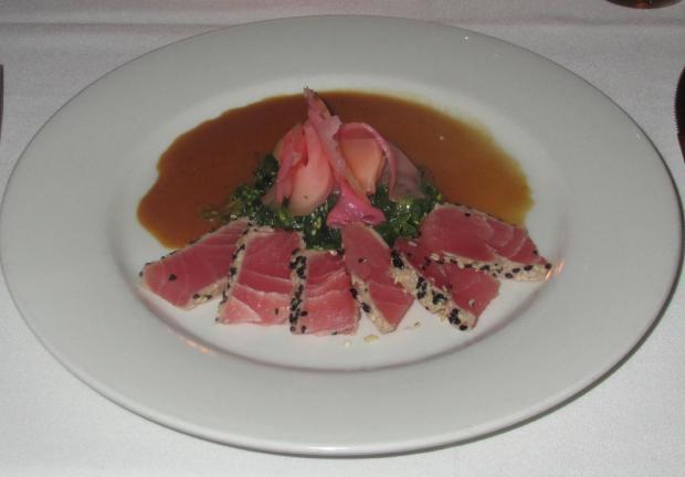 Empire Grill Tuna Tataki