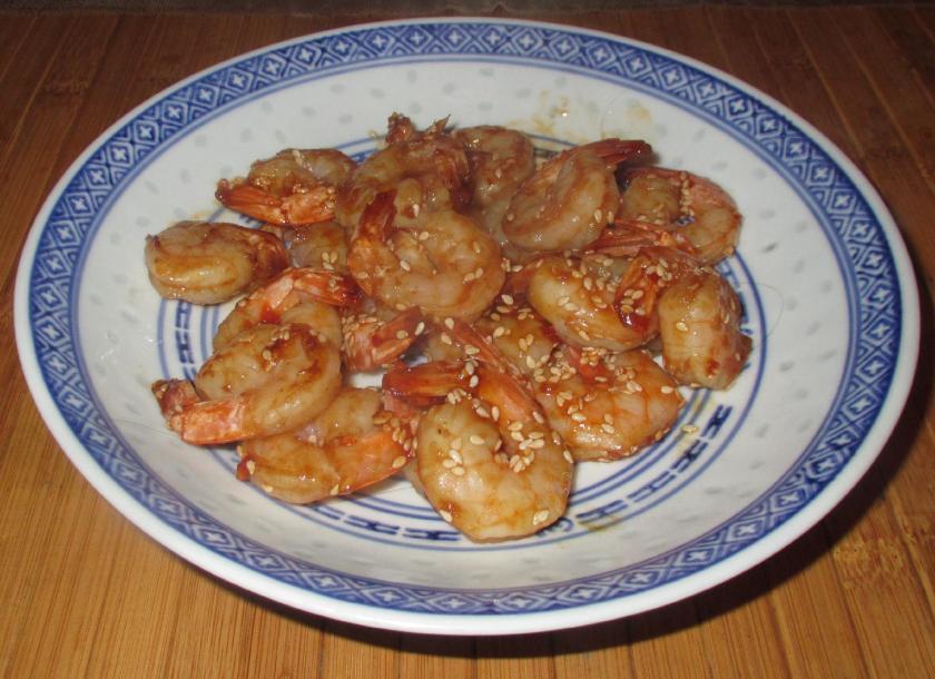 Hoisin sesame Shrimp 1